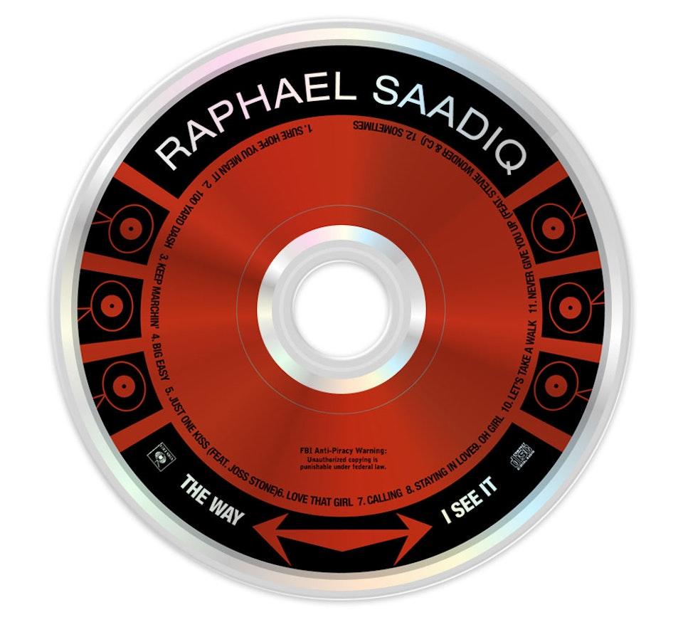 Raphael Saadiq The Way I See It - CD art