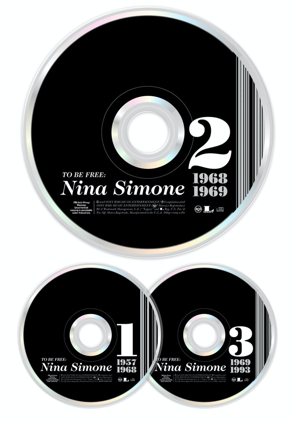 To Be Free: The Nina Simone Story - CD art