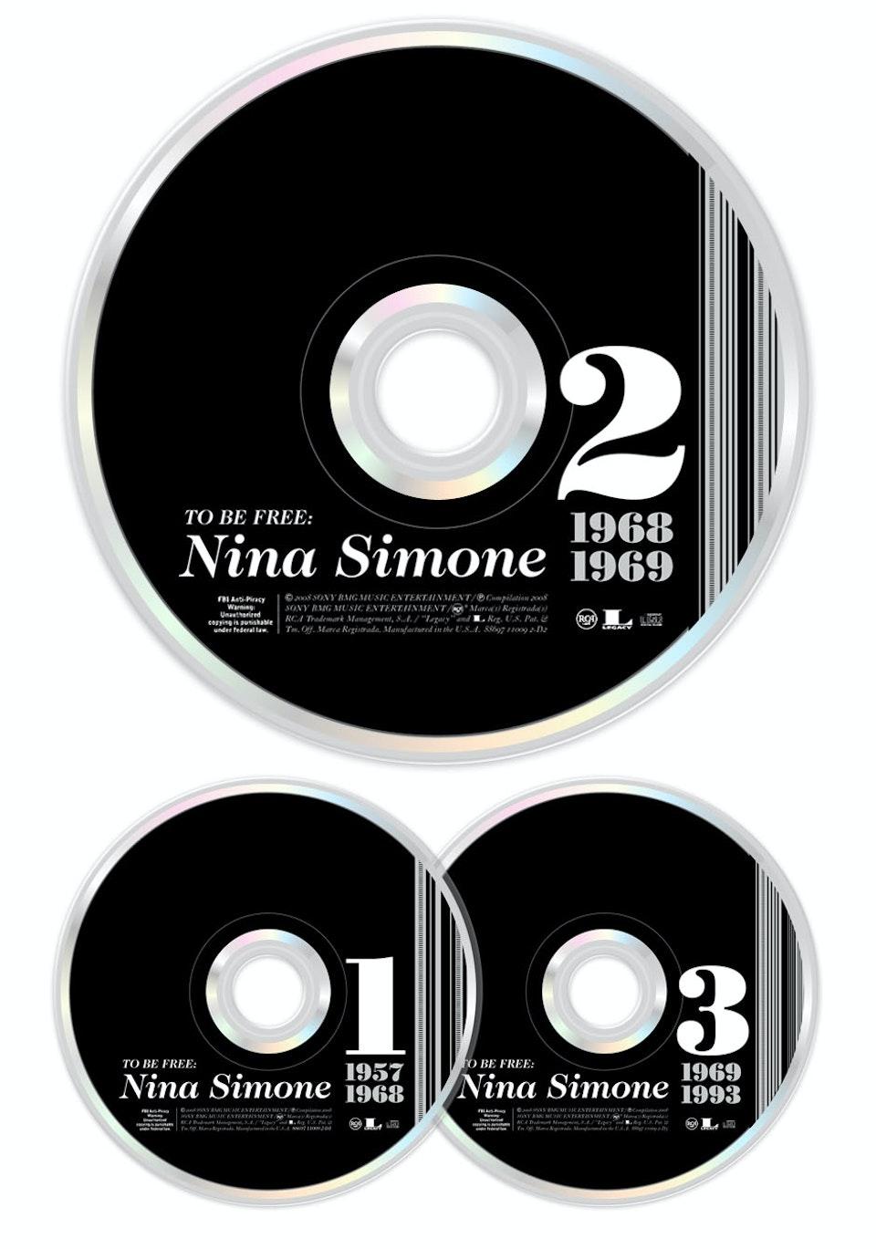 To Be Free: The Nina Simone Story - CD art