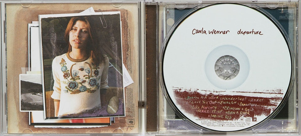 Carla Werner Departure - CD art