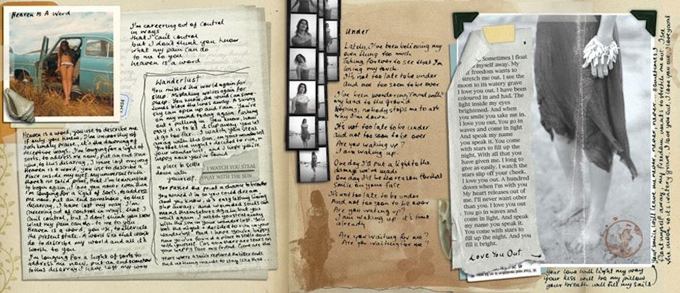 Carla Werner Departure - Booklet art