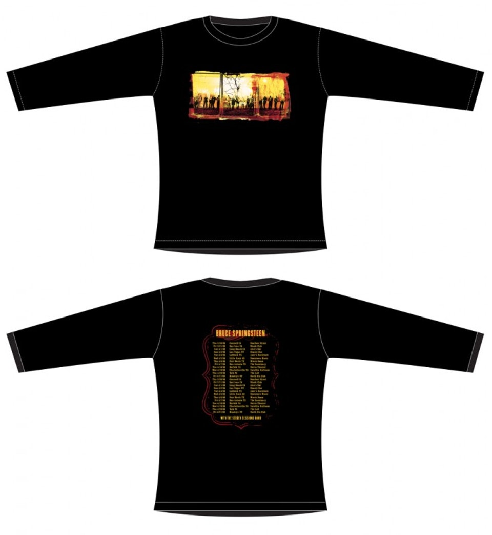 Seeger Sessions Tour Merch - Womens long sleeve