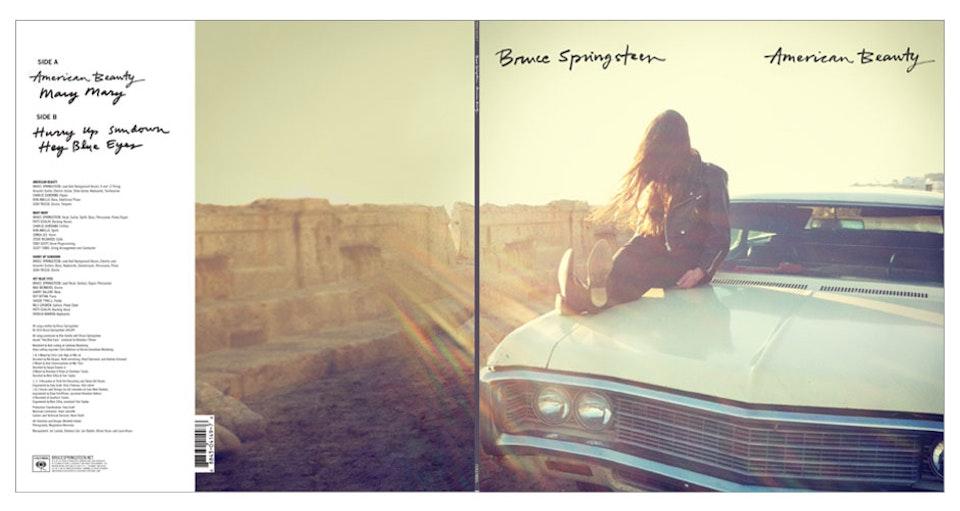 Bruce Springsteen - LP jacket