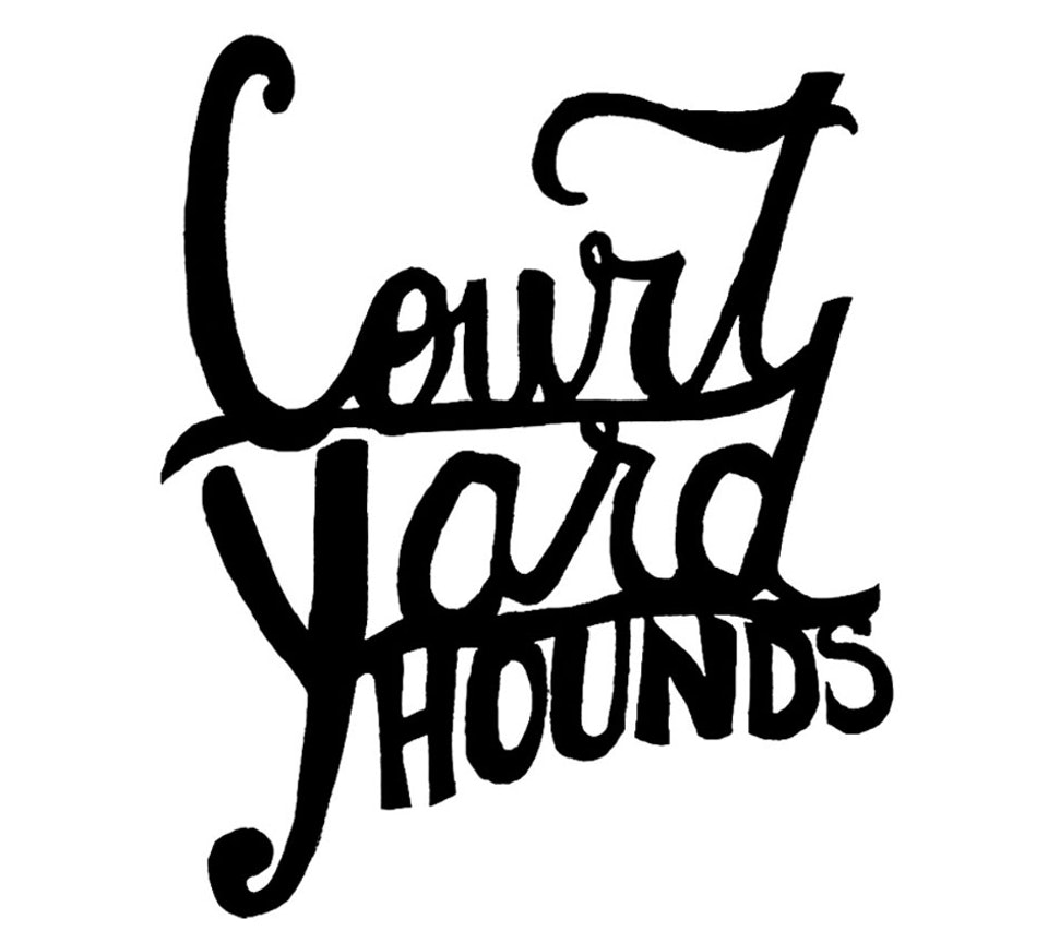 Court Yard Hounds - Hand drawn logo