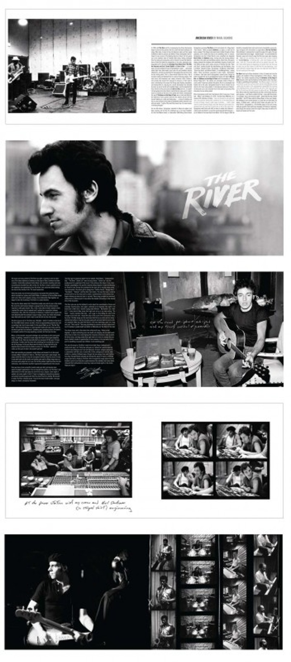 The River Set Box - Sample spreads from book