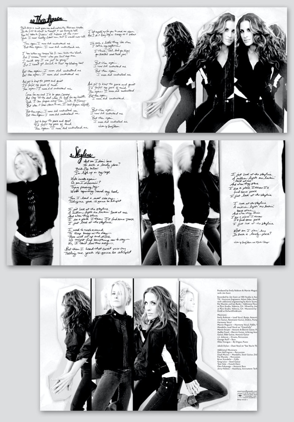 Court Yard Hounds - Deluxe booklet spreads