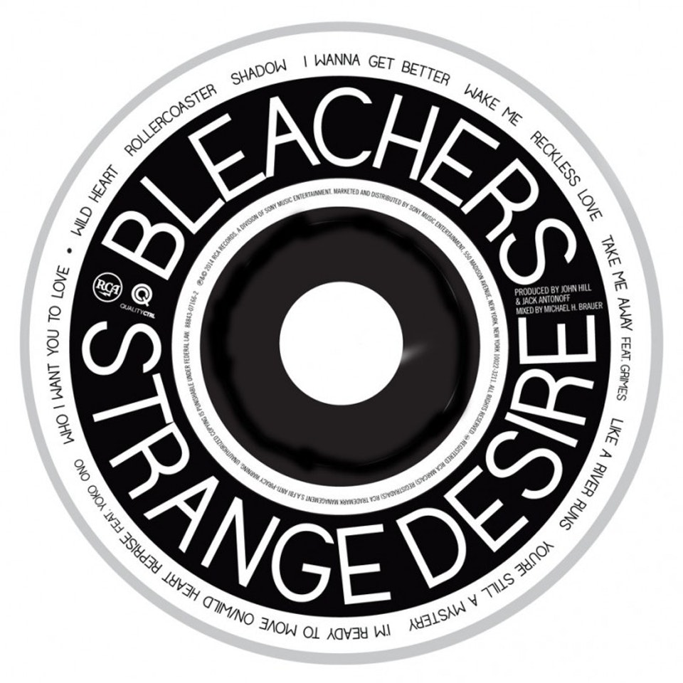 Strange Desire - CD art