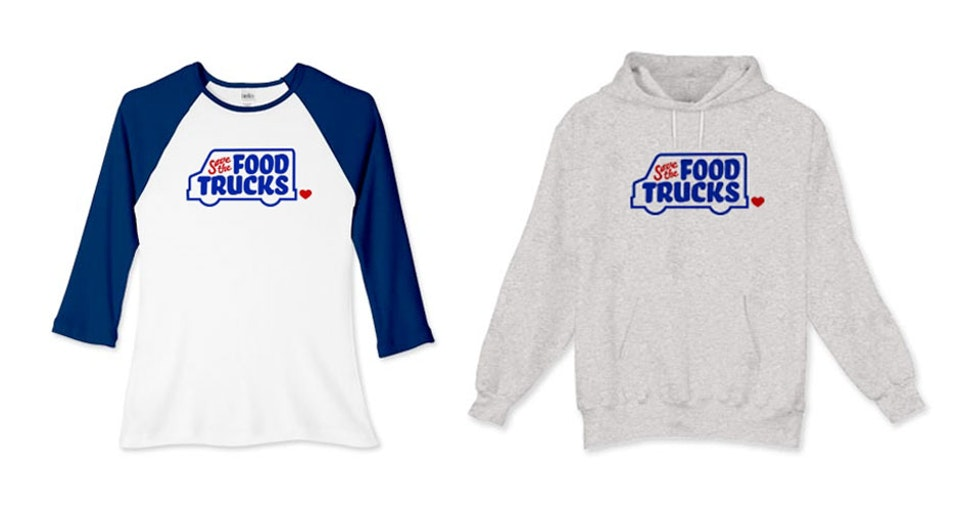 Save the Food Trucks - Campaign merch