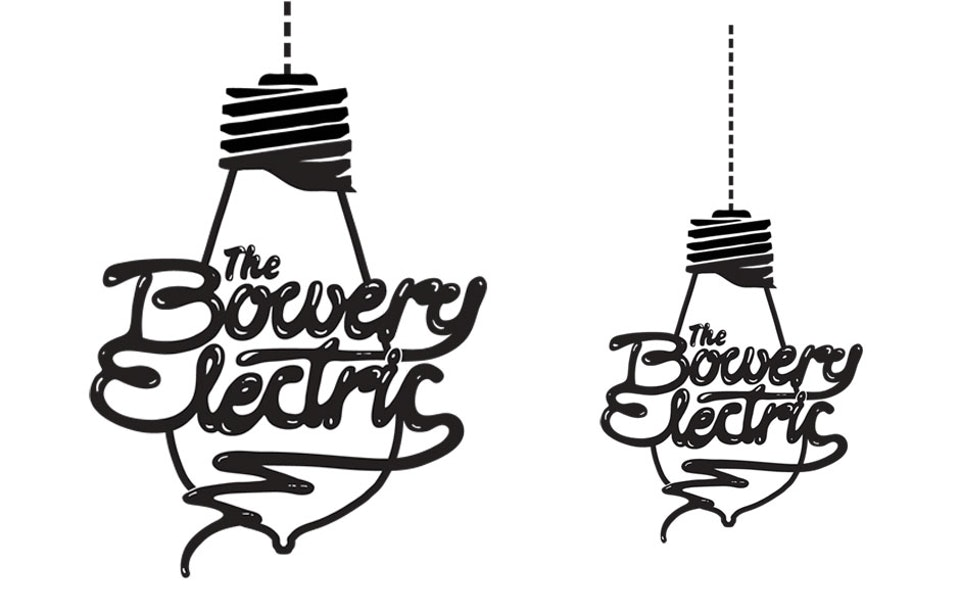 Bowery Electric - Logo for NYC rock bar
