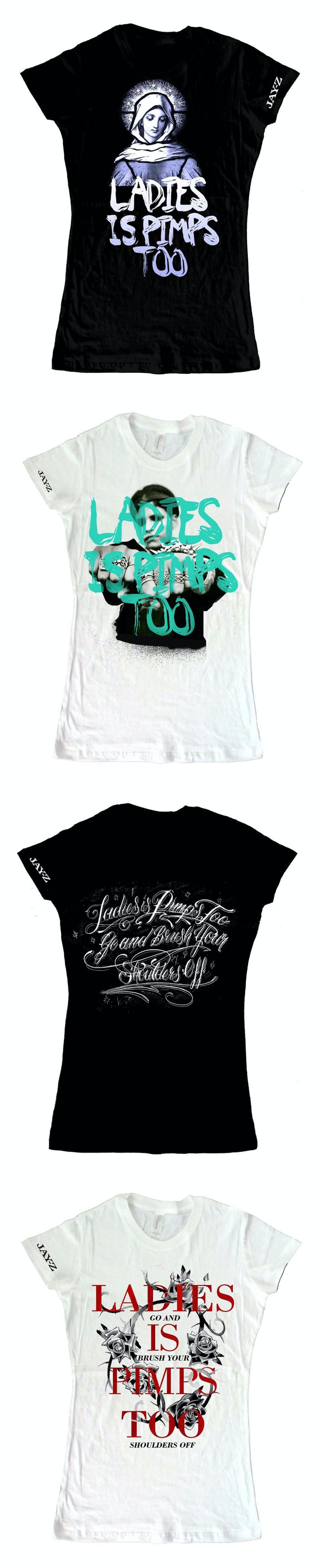 Lyric Tees - Womens tshirt comps