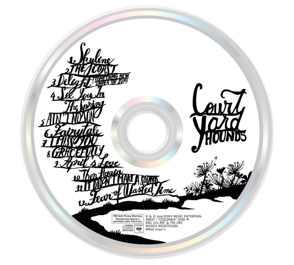 Court Yard Hounds - CD art