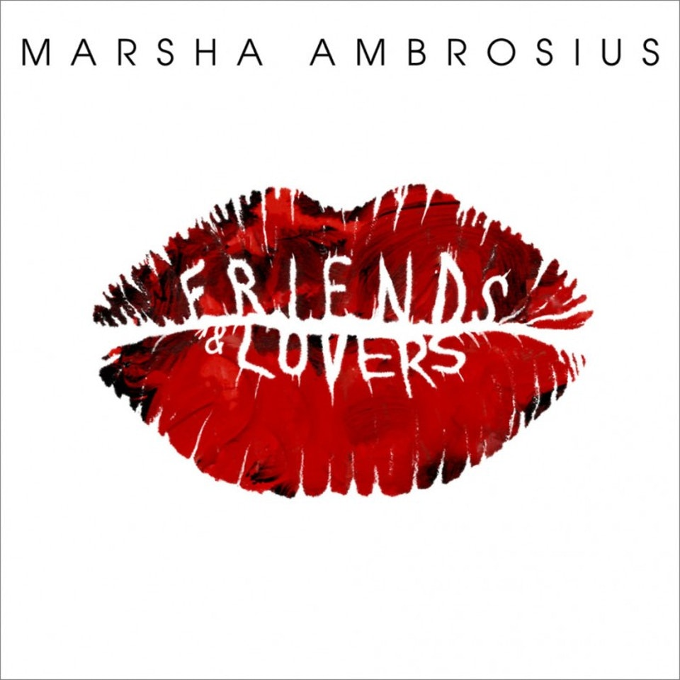 Marsha Ambrosius Friends & Lovers - Cover