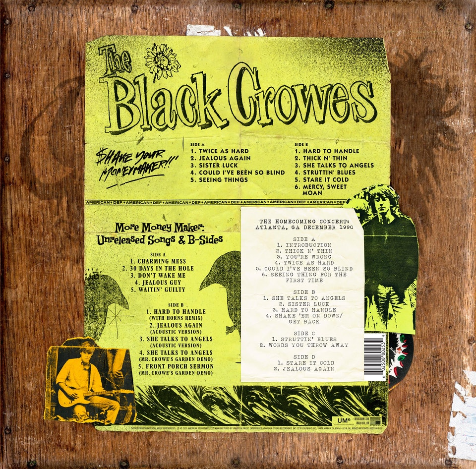 The Black Crowes Shake Your Money Maker 30th Anniversary