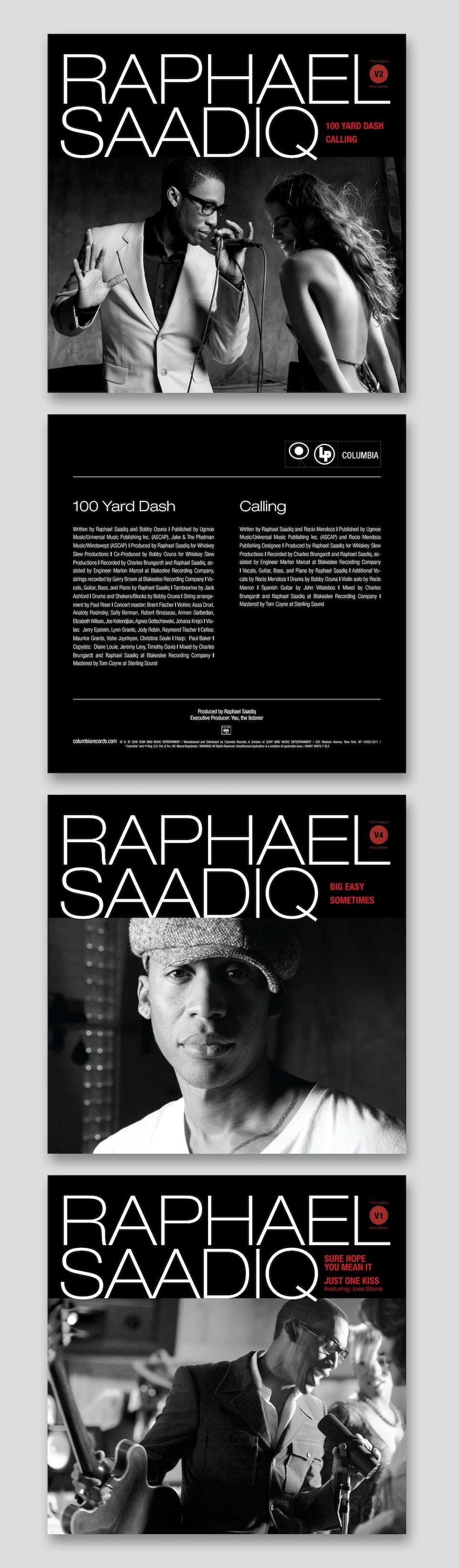 """Raphael Saadiq The Way I See It - Special 7"""" vinyls"""