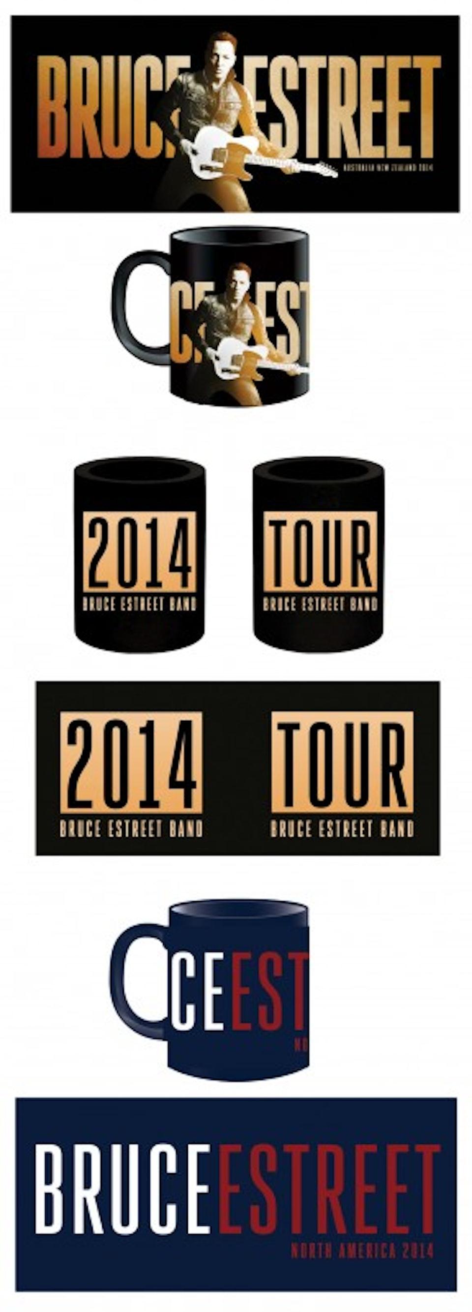 High Hopes Tour Book Merch