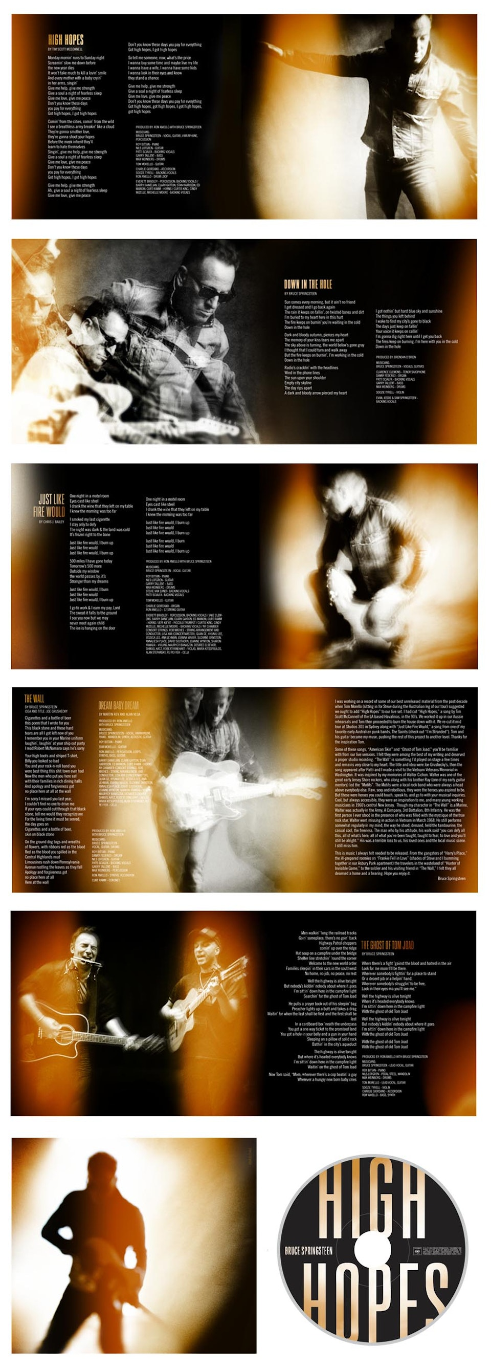 High Hopes - High Hopes booklet and CD