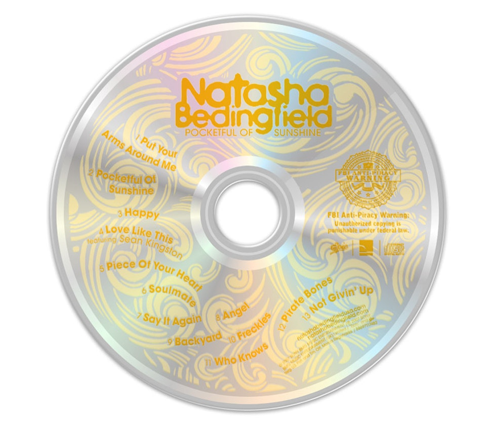 Pocketful of Sunshine - CD art