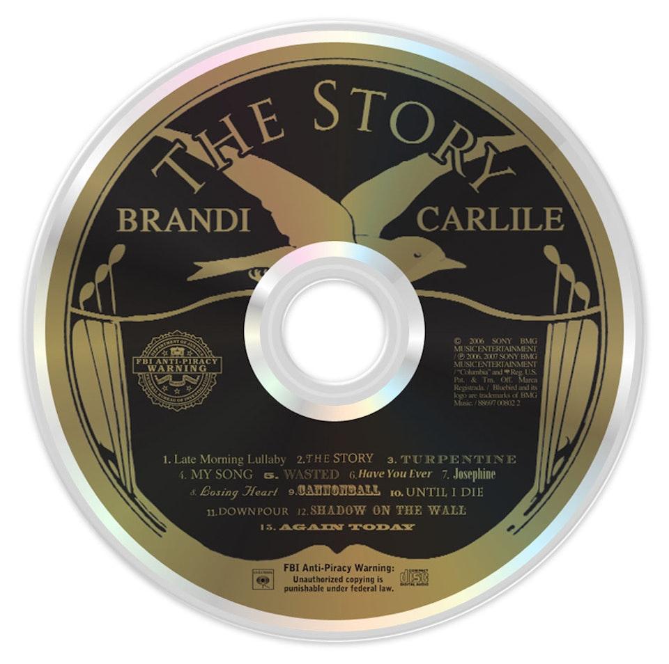 The Story - CD art