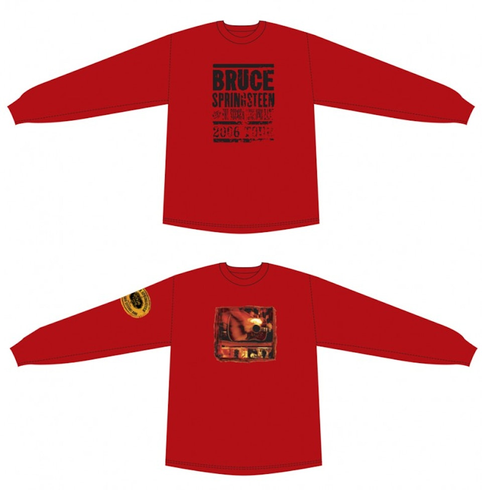 Seeger Sessions Tour Merch - Mens long sleeve tees