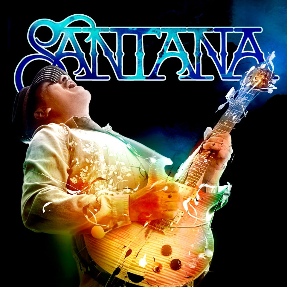 Santana Guitar Heaven - Cover art