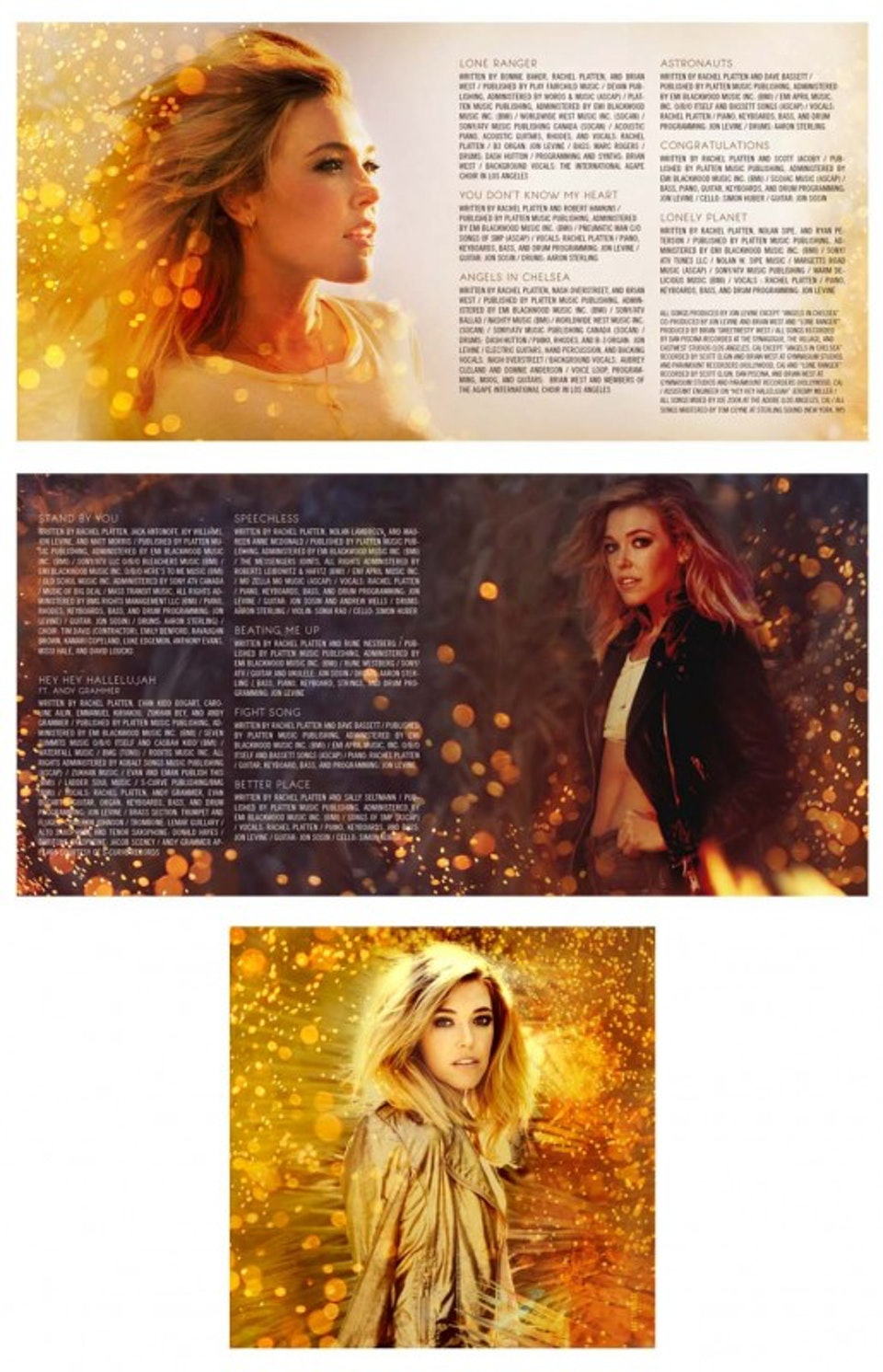 Rachel Platten Wildfire - Packaging