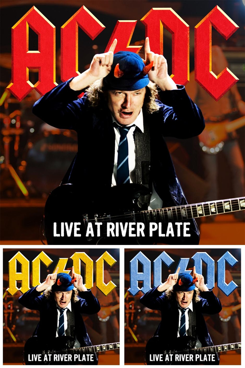 AC/DC - Multiple covers