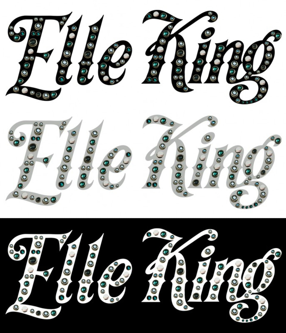Elle King Love Stuff - Bedazzled logo