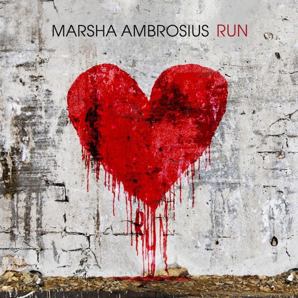 Marsha Ambrosius Friends & Lovers - Run single cover