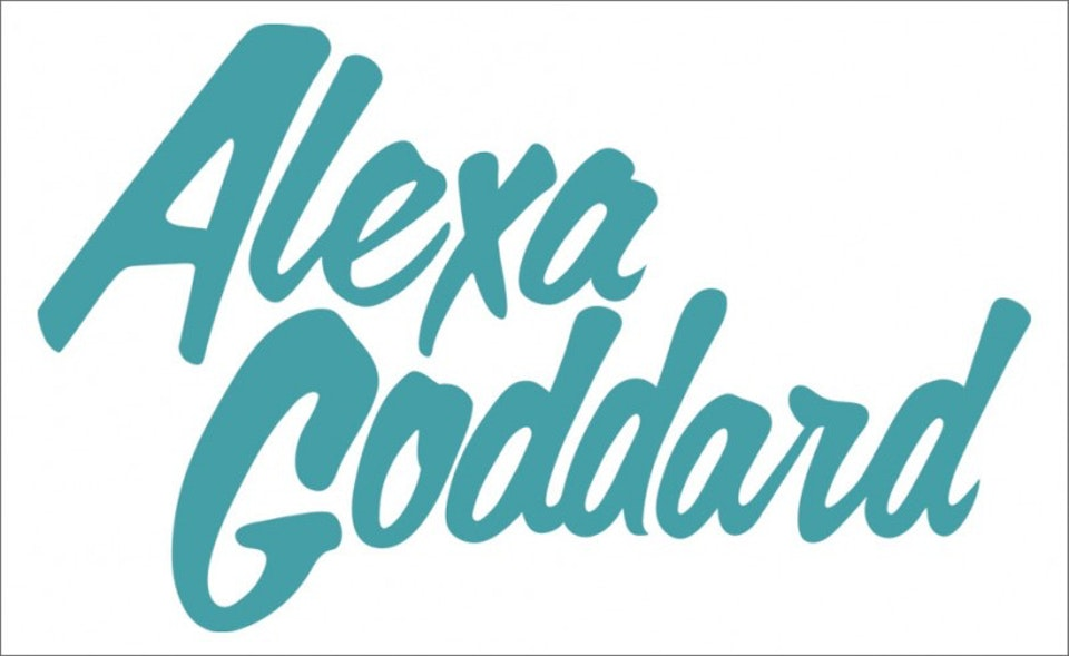 Alexa Goddard - Logo