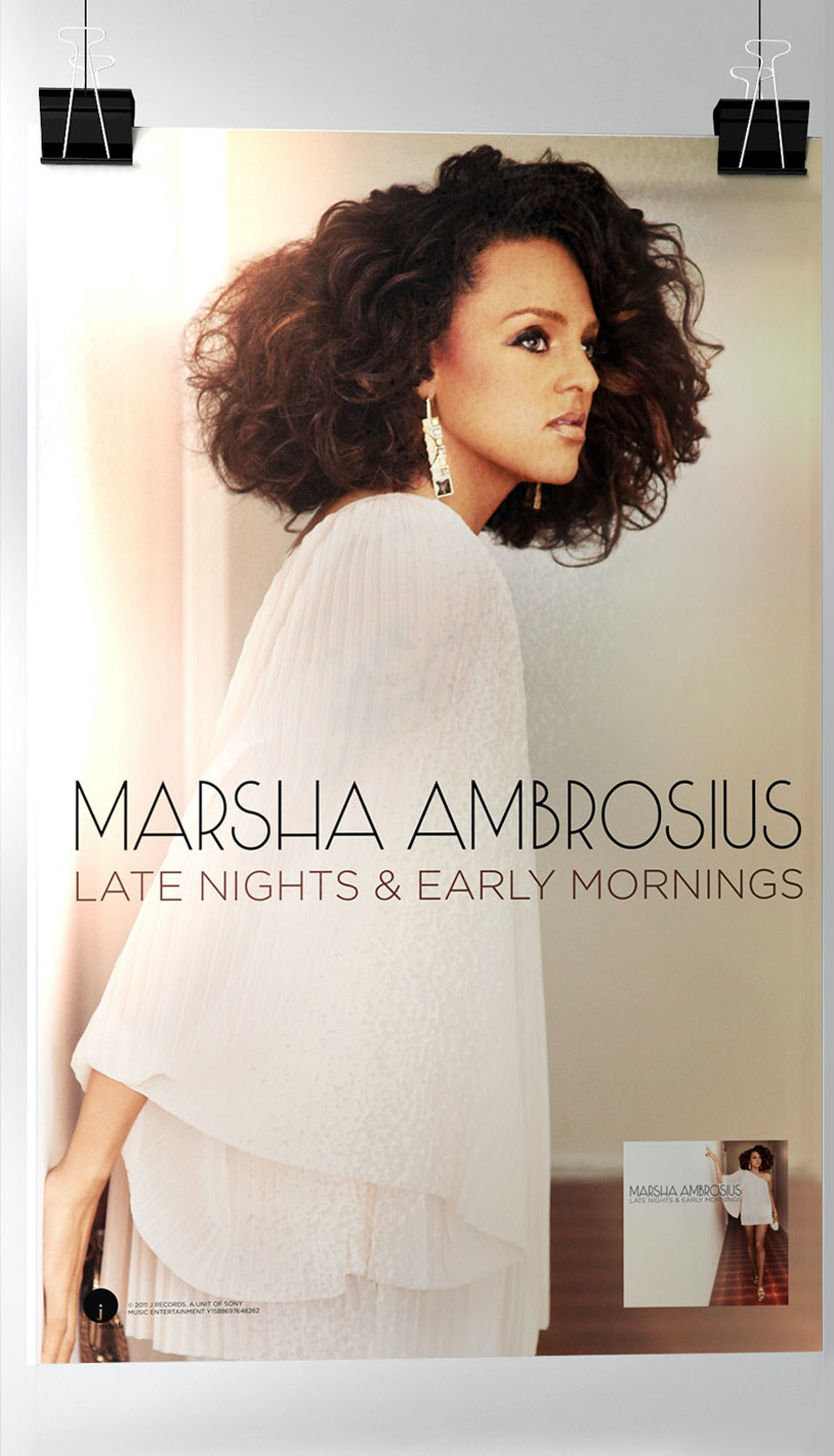 Marsha Ambrosius Late Nights & Early Mornings & Photo Shoot