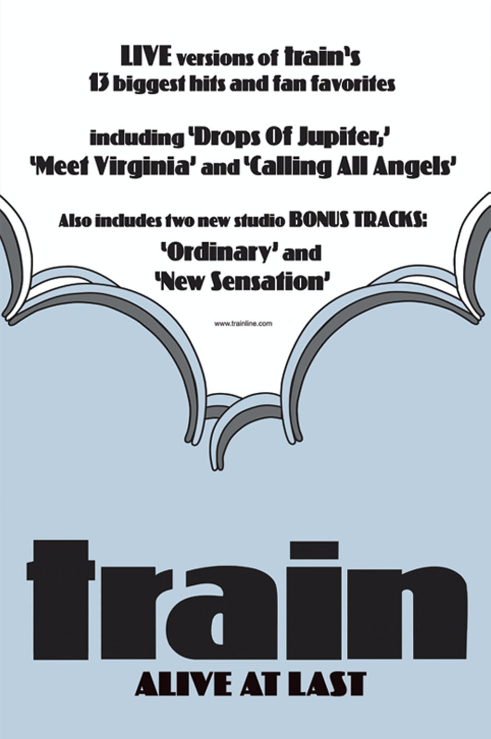 Train Alive at Last - Poster
