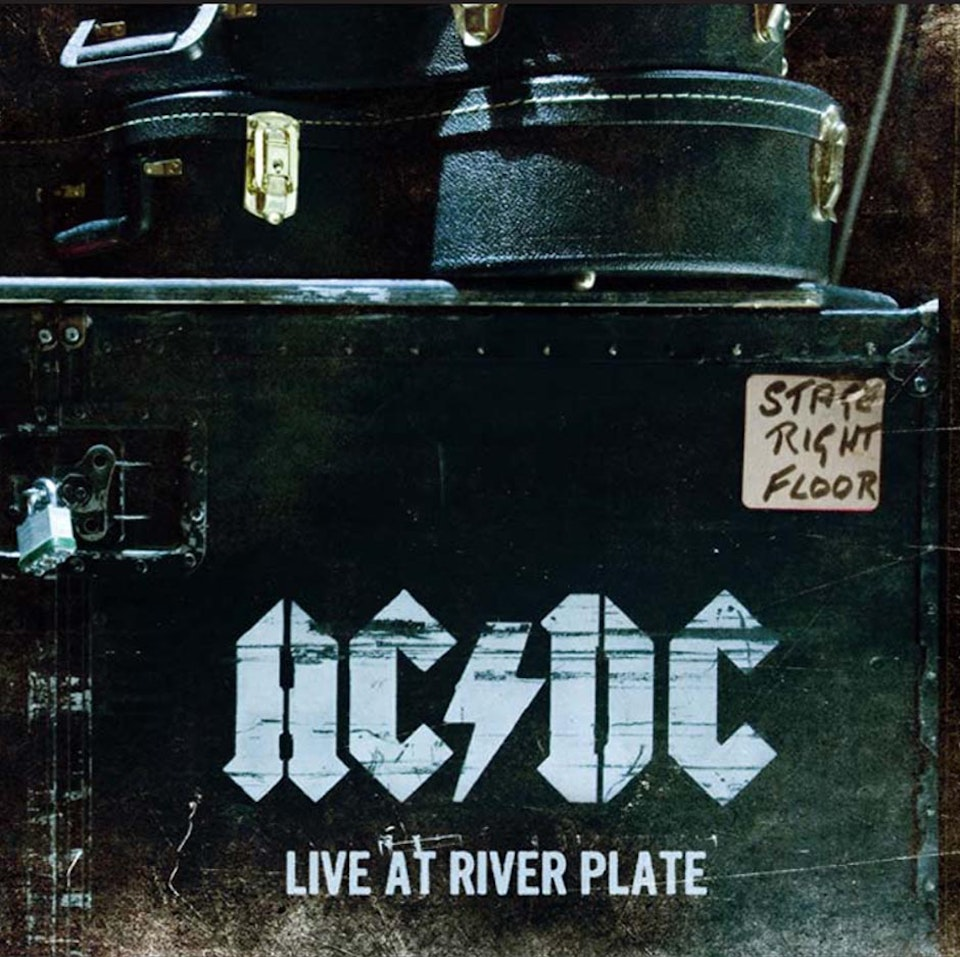 AC/DC - Booklet cover