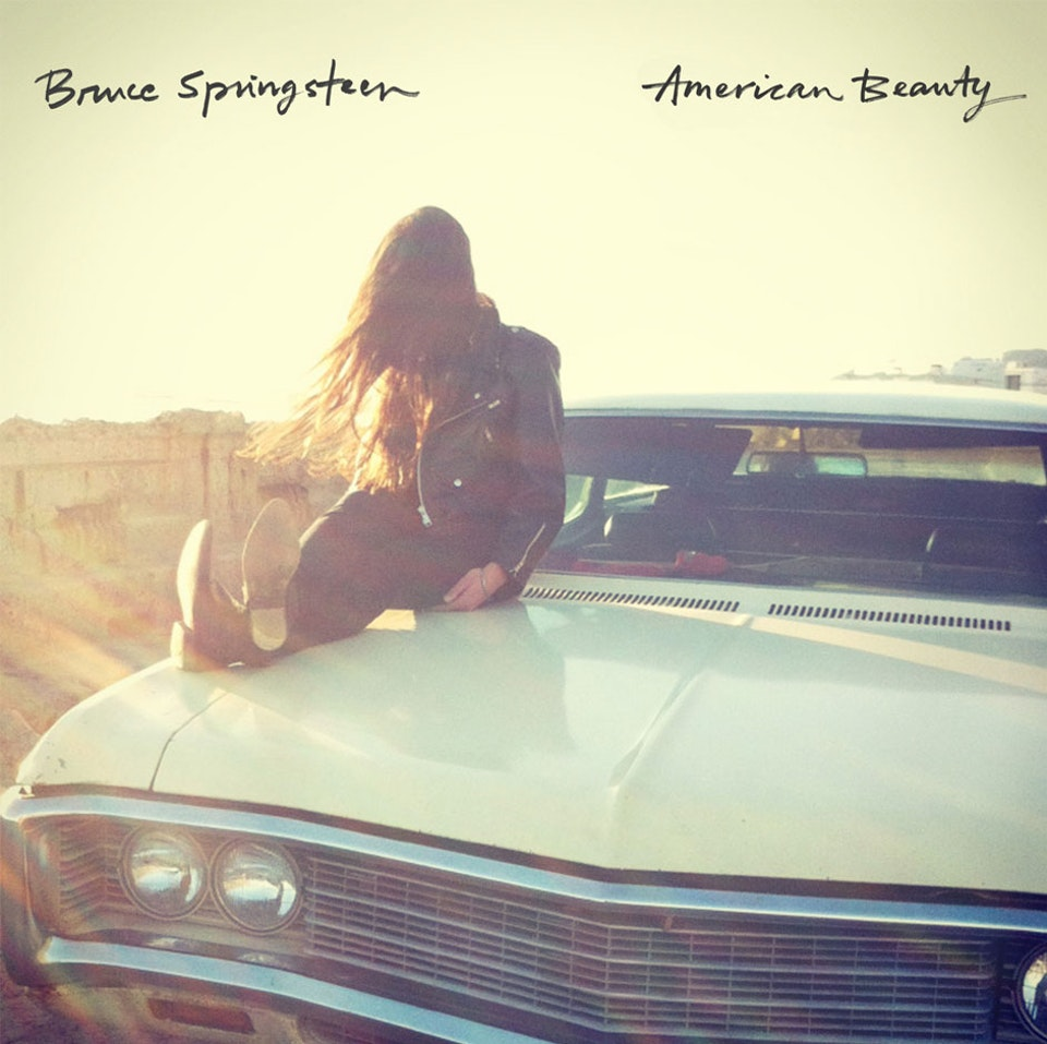 Bruce Springsteen - LP cover