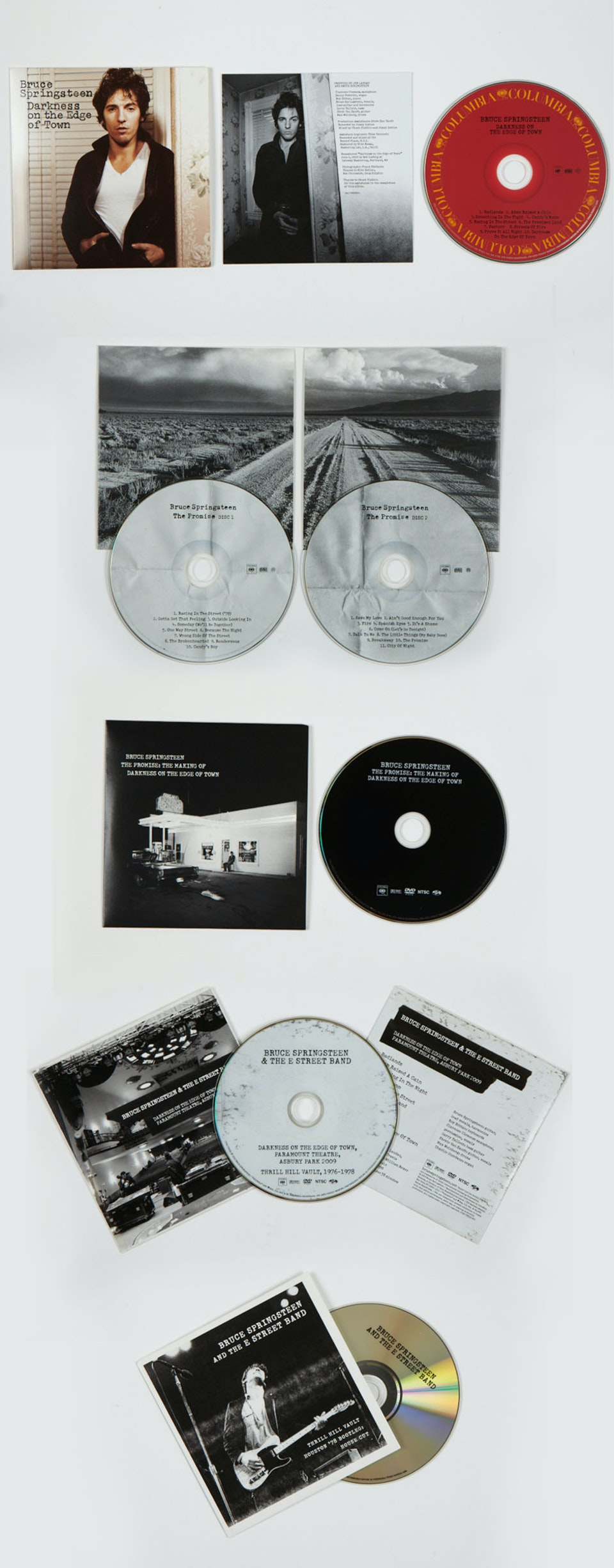 Grammy winning Darkness on the Edge of Town - CDs and DVDs