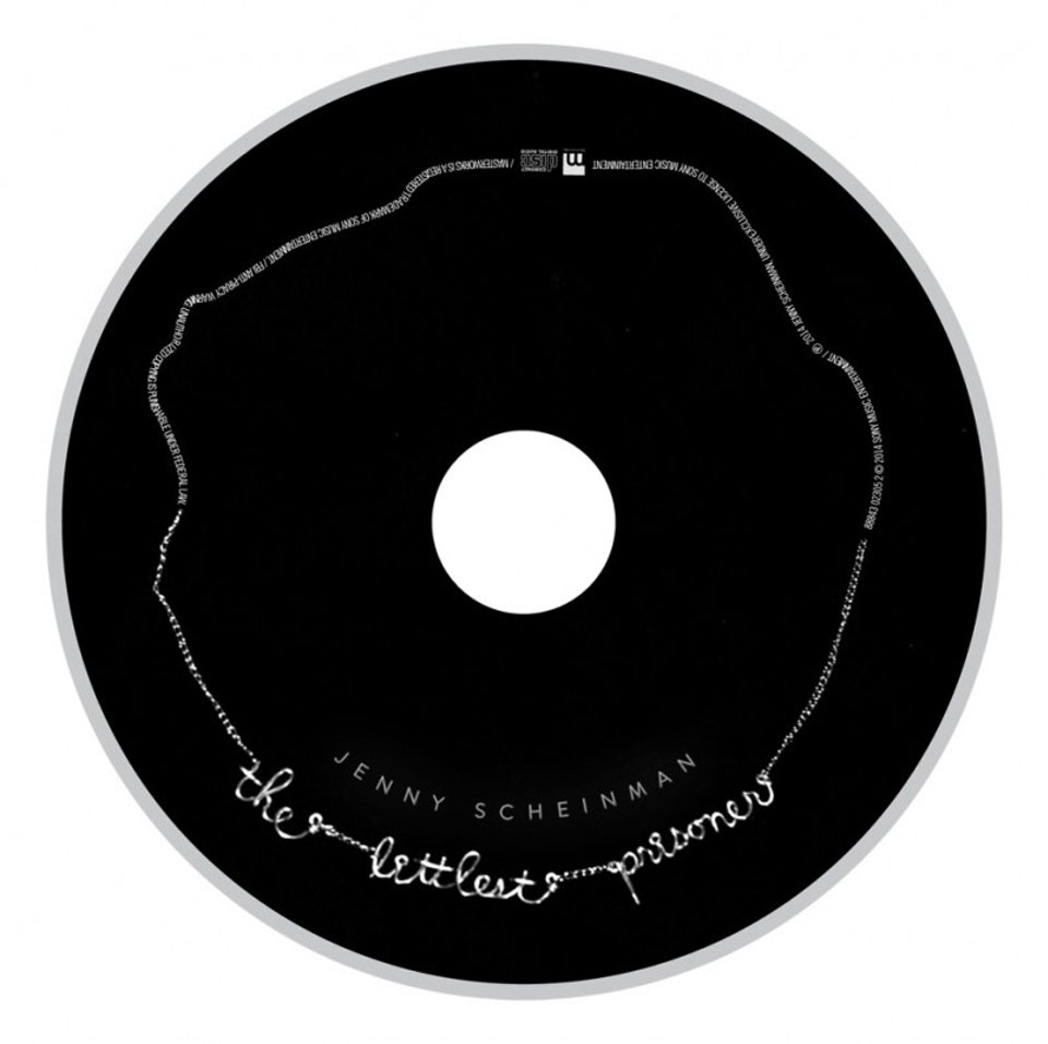 Jenny Scheinman The Littlest Prisoner - CD art