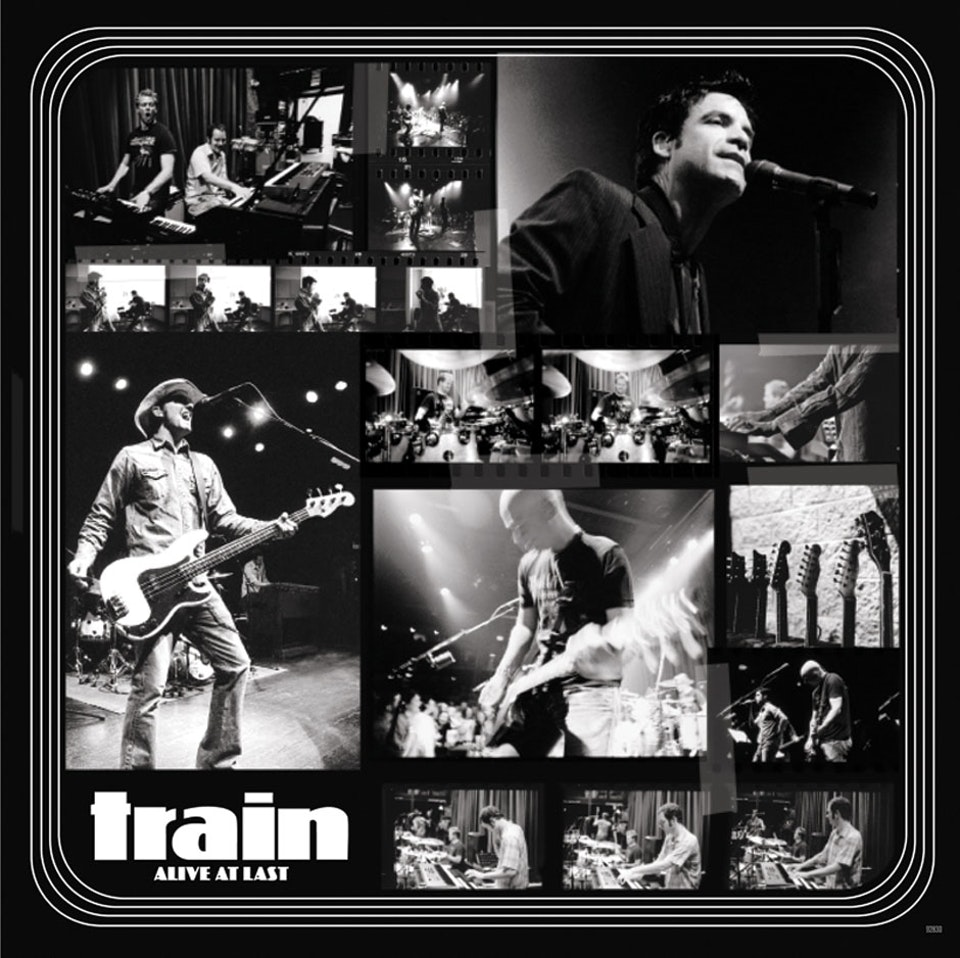 Train Alive at Last - Booklet poster