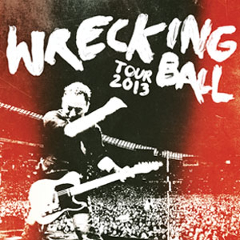 Wrecking Ball European Tour Book