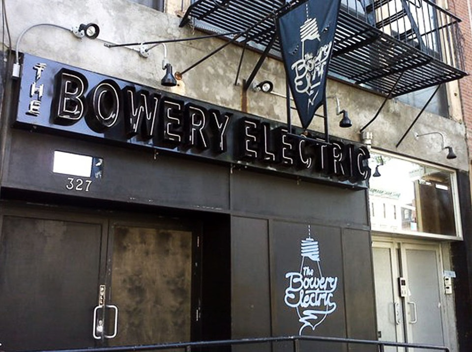 Bowery Electric - Outside Bowery Electric