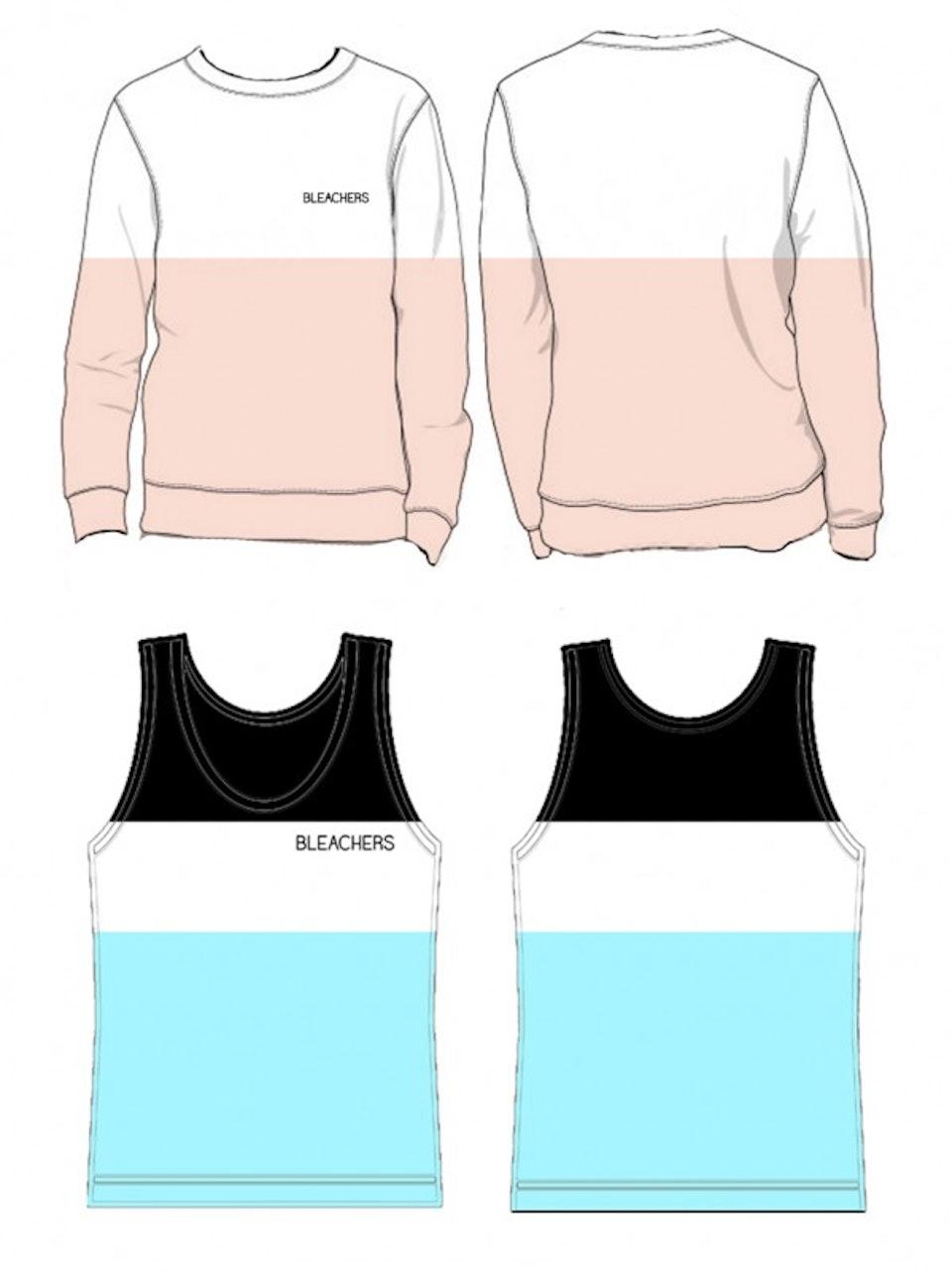 Tour Merch - Sweatshirt and tank