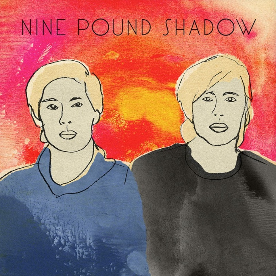 Nine Pound Shadow - EP cover and illustration