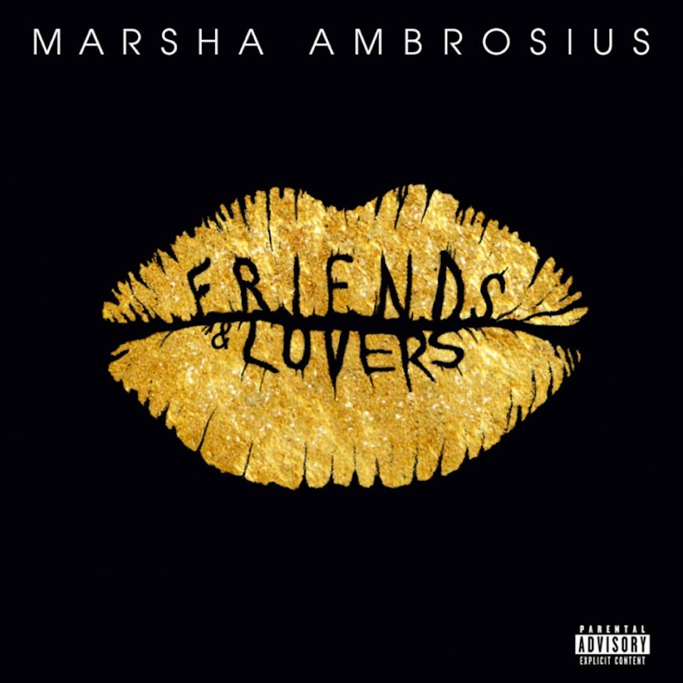 Marsha Ambrosius Friends & Lovers - Deluxe cover