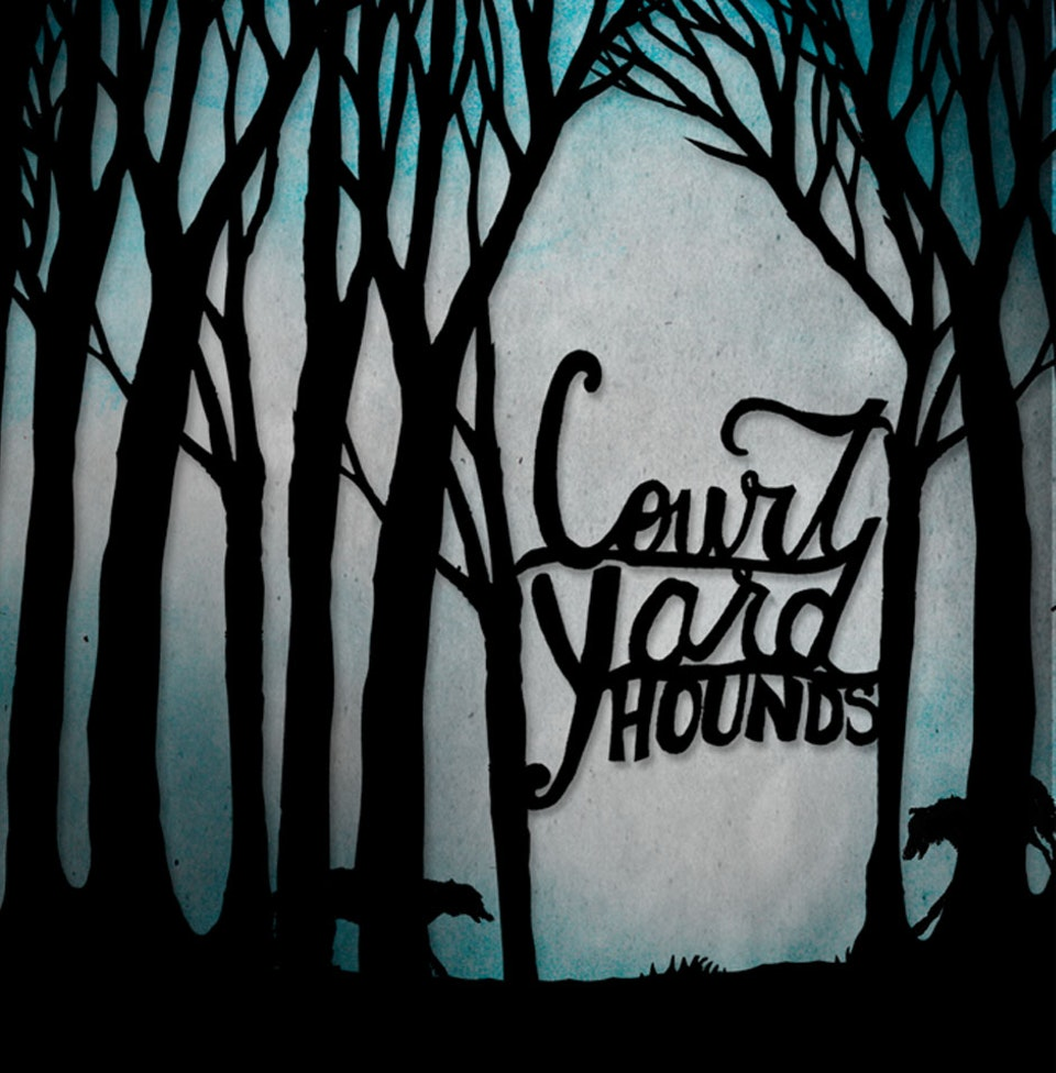Court Yard Hounds - Pop-up book cover