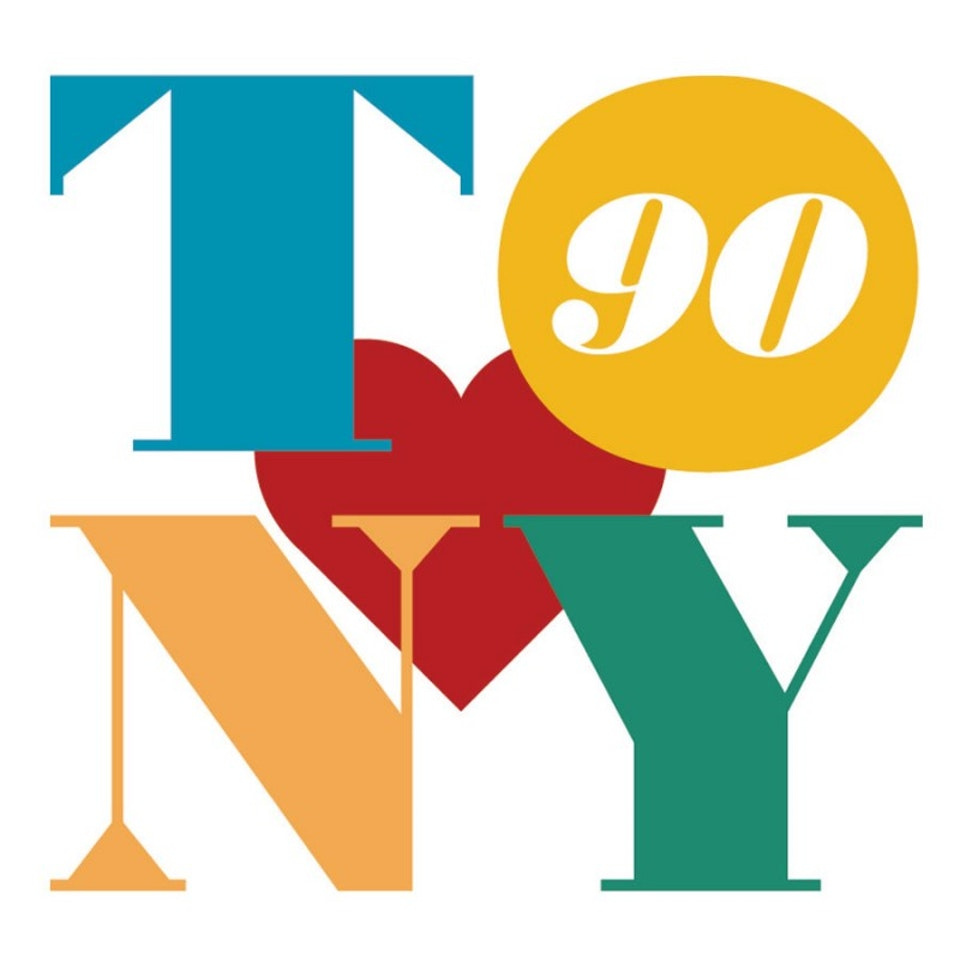 TONY BENNETT 90th logo