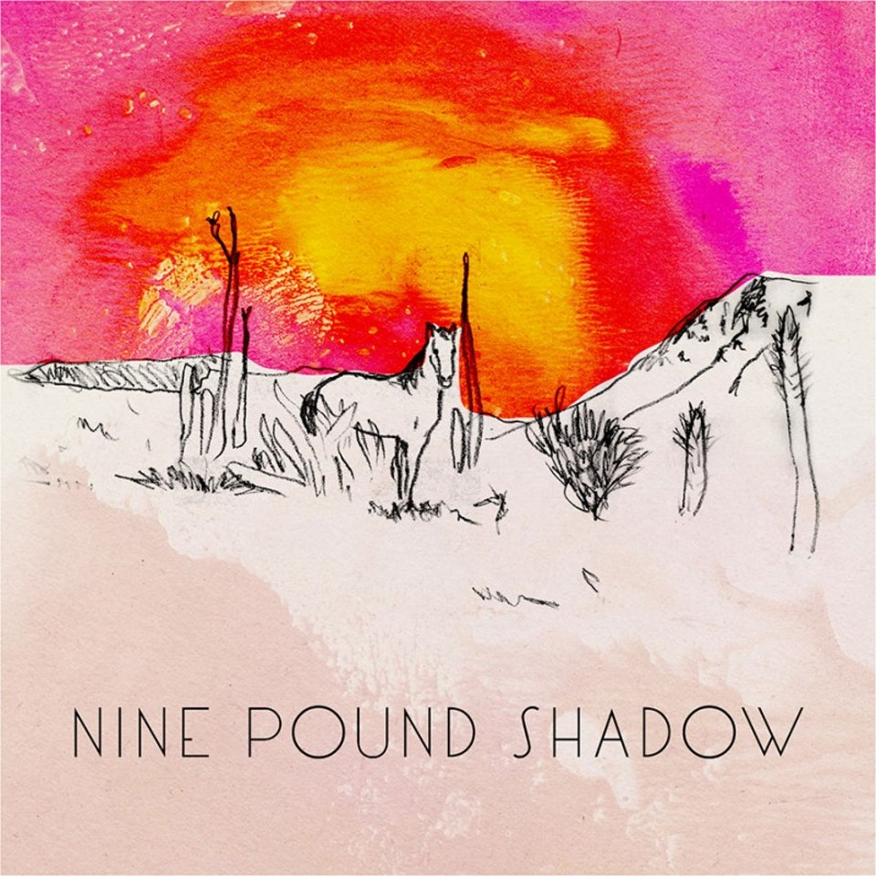 Nine Pound Shadow - Single cover art and illustration