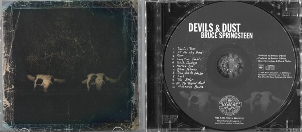 Devils & Dust - Packaging art