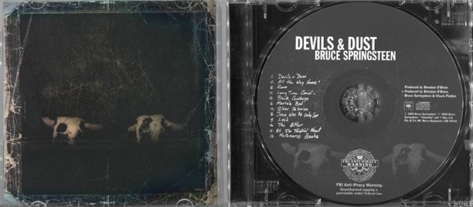 Devils & Dust - Packaging art