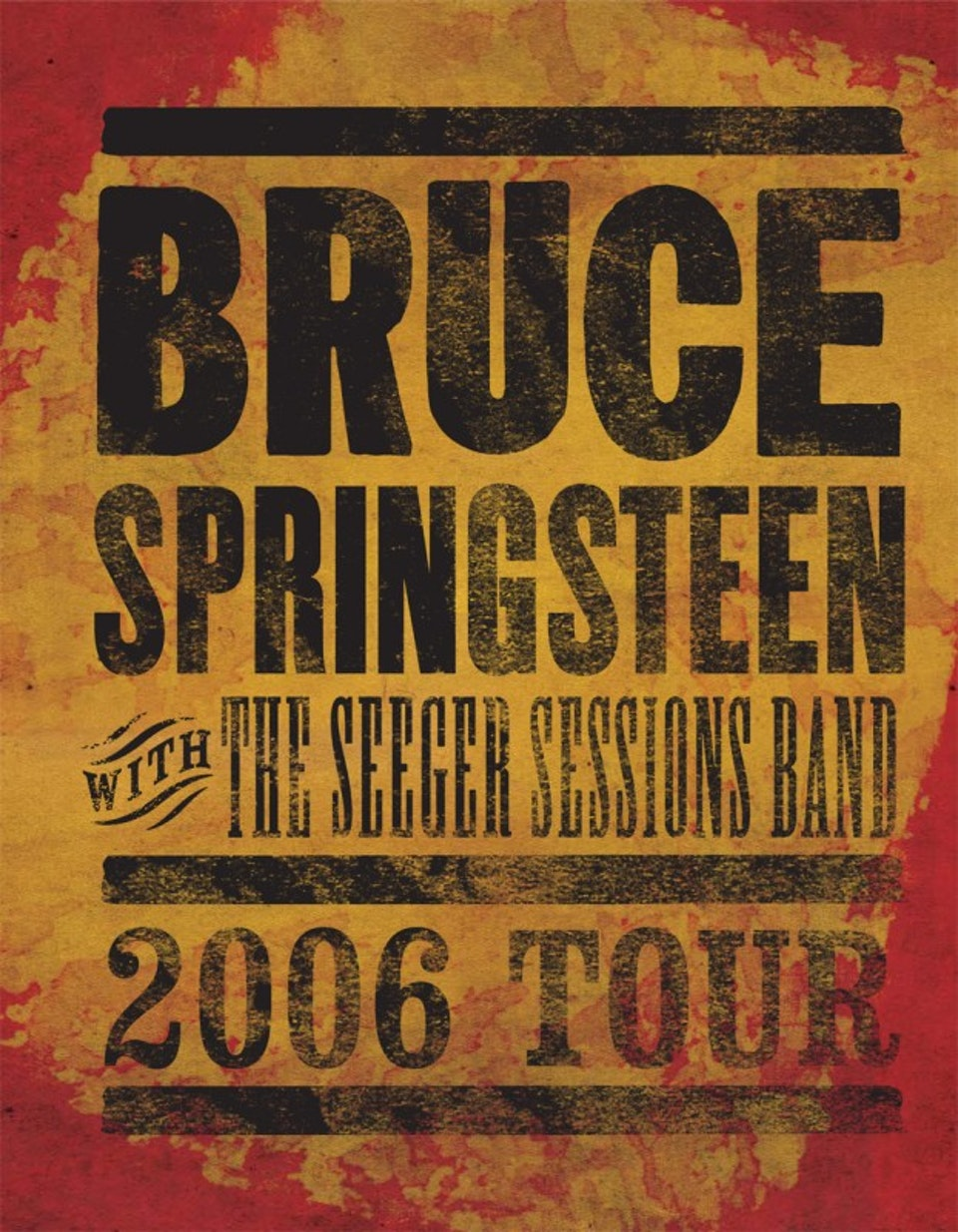 Seeger Sessions Band Tour Book - Tour book cover
