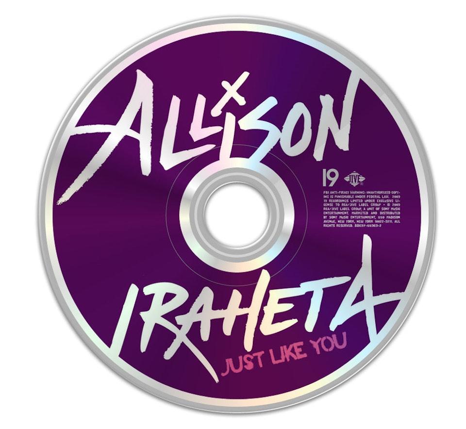 Allison Iraheta - CD art