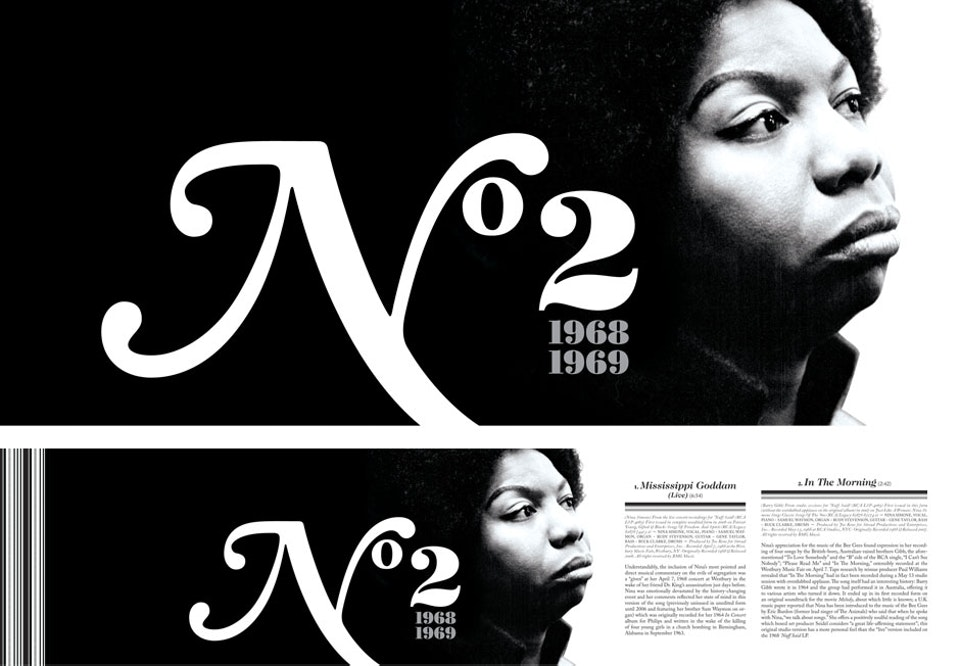 To Be Free: The Nina Simone Story - Packaging art