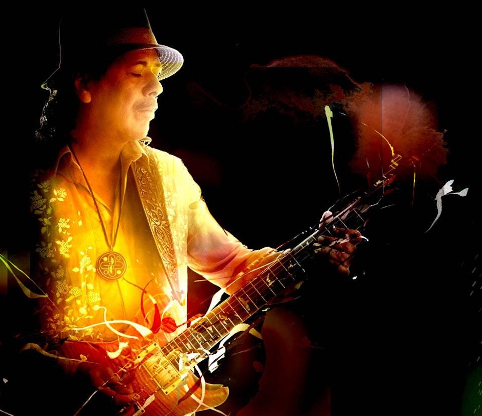 Santana Guitar Heaven - Packaging art
